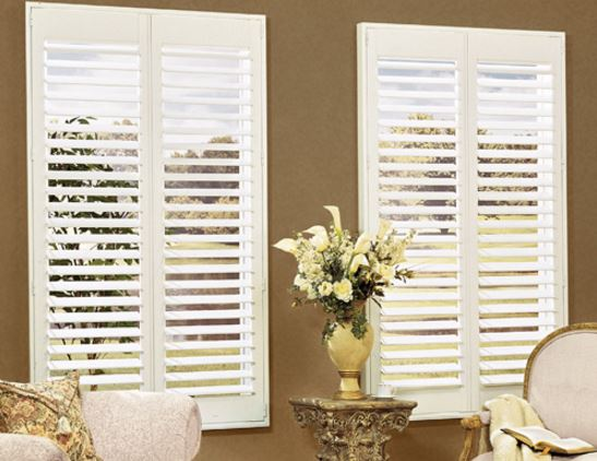 Woodland Wood Composite Shutters | Z Blinds Company Fresno
