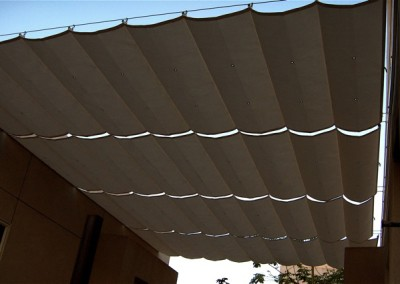 Awning open