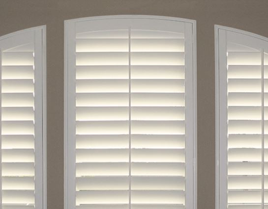 Arched Shutters Specialty Shades Z Blinds Company Fresno