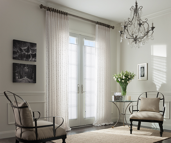 ZBlinds Company Fresno | EvenPleat Pleated Shades
