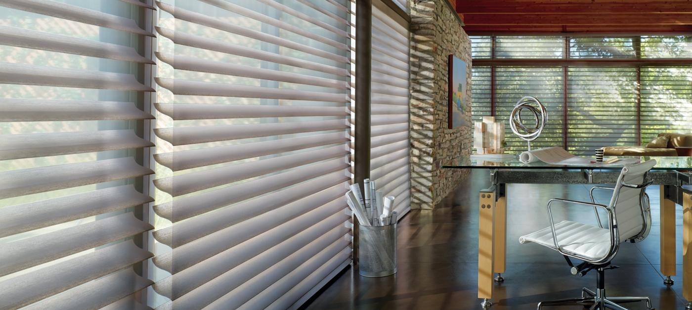 cellular hunter living roller room with douglas sonnette douglass blinds after shades before