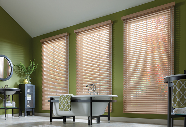 Lake forest Graber Wood Blinds