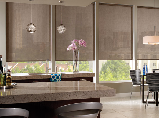 Serenade Roller Shades With Somfy Radio Frequency Rf