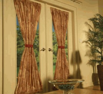 Rod Top and Bottom Draperies | ZBlinds Co. Fresno