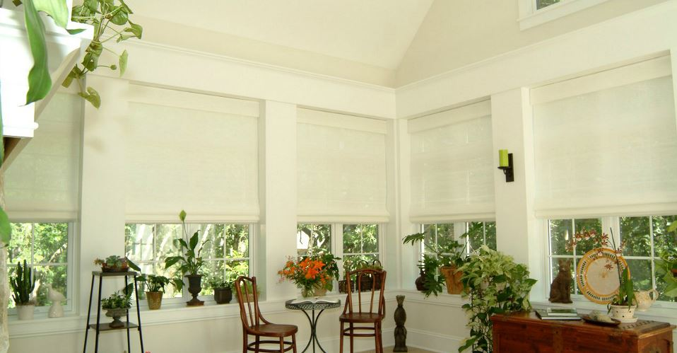 Tahoe Roman Shades Zblinds