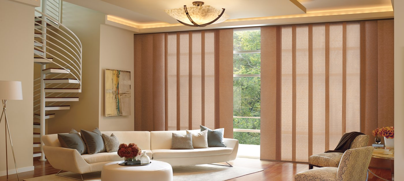Skyline Gliding Window Panels Hunter Douglas Z Blinds