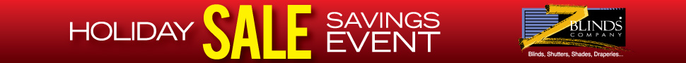 ZBlinds Company Sale | Window Treatments Sale