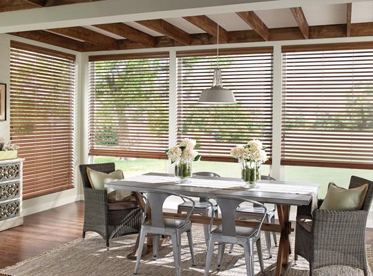 comfortex 2in wood blinds