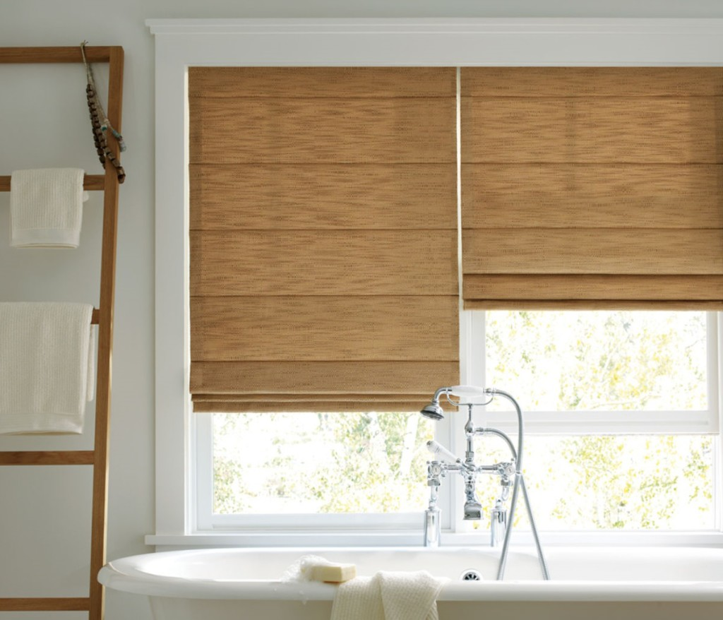 Carmel Fabric Roman Shades Zblinds