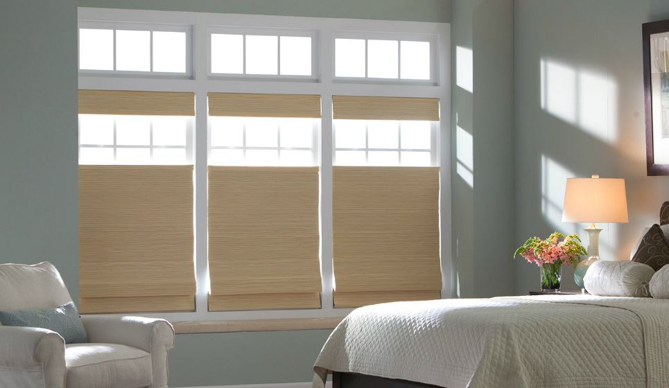 Duo Fold Woven Shades | ZBlinds Fresno