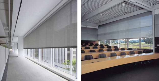 Mecho Shade Systems Business Window Coverings Fresno