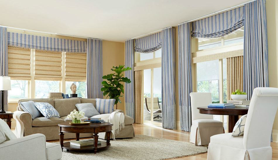 Roman Fold Shade Zblinds