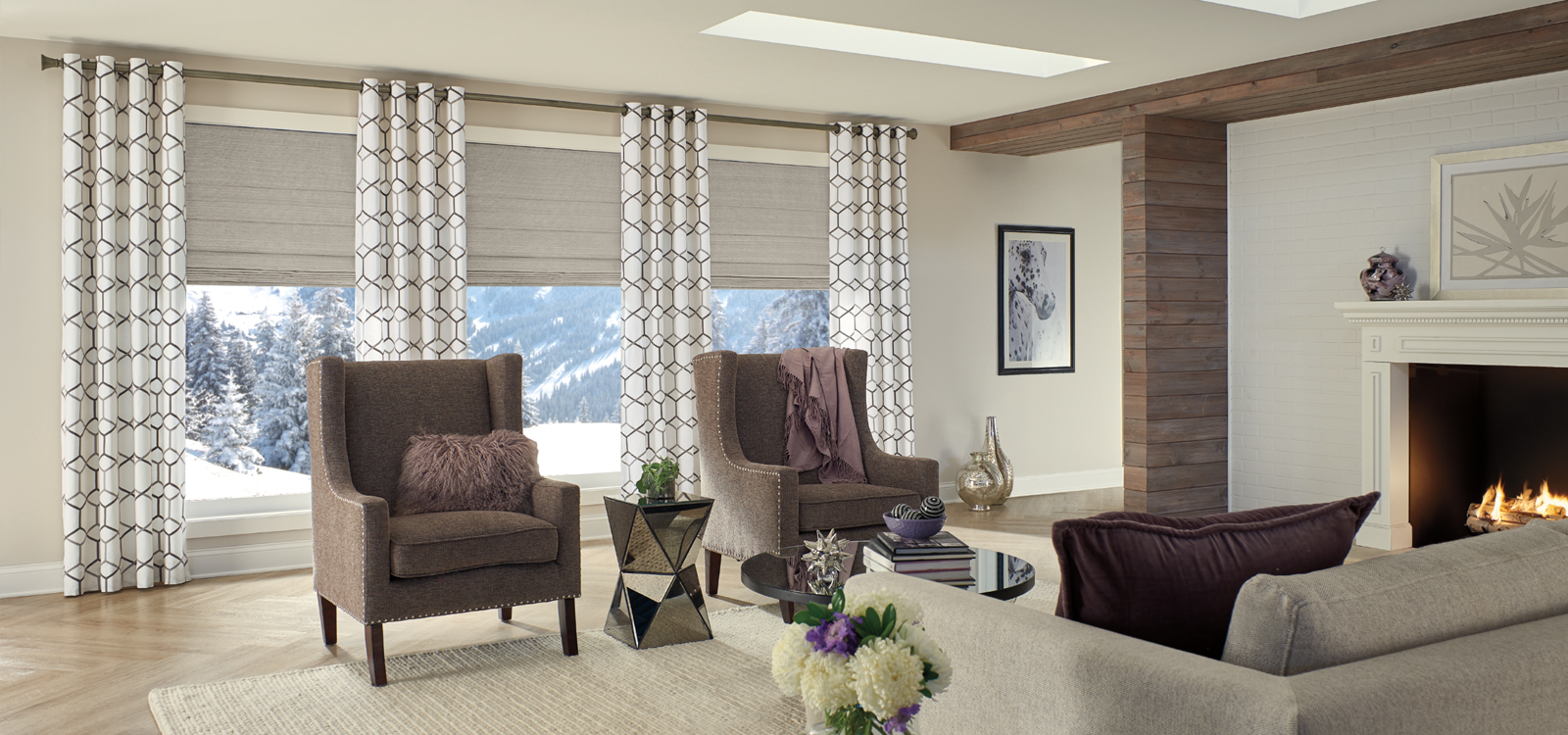 Horizons Soft Treatments Roman Shades Zblinds