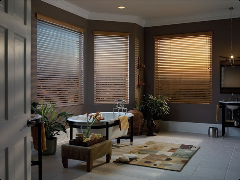 softwood faux blinds
