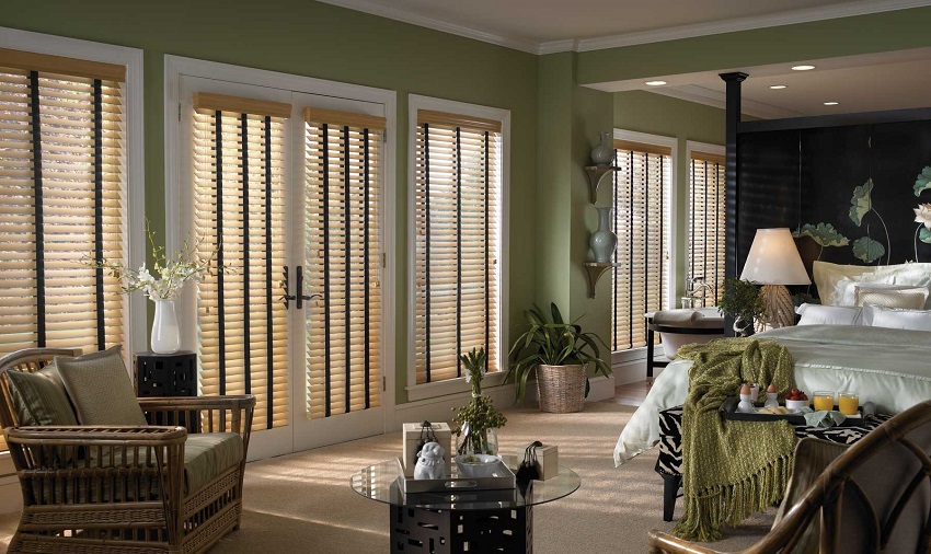timberwood faux wood blinds