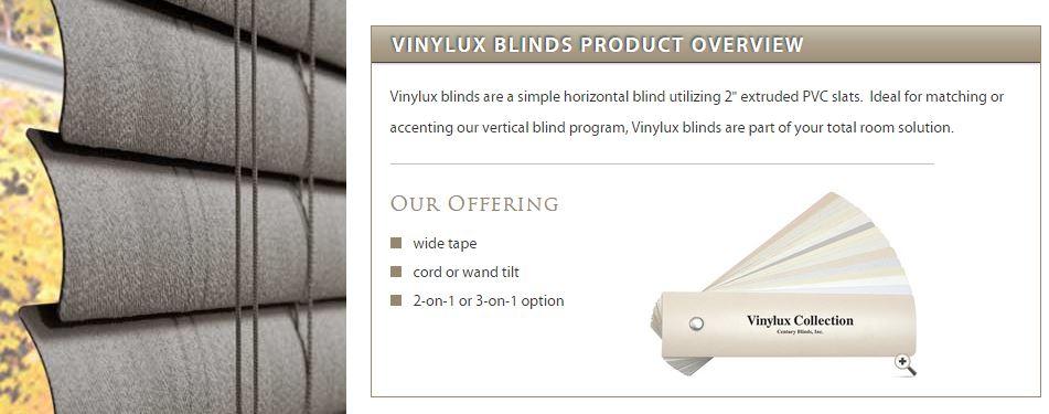 Vinylux Horizontal Blinds Zblinds Fresno